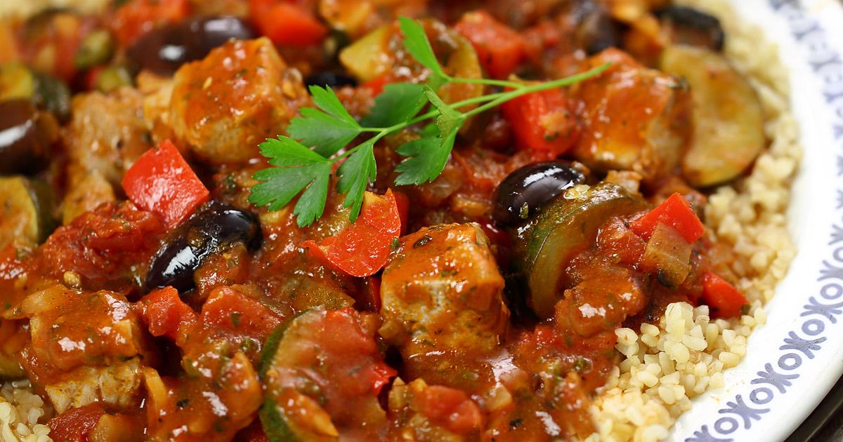 Greek Tuna And Vegetable Stew
