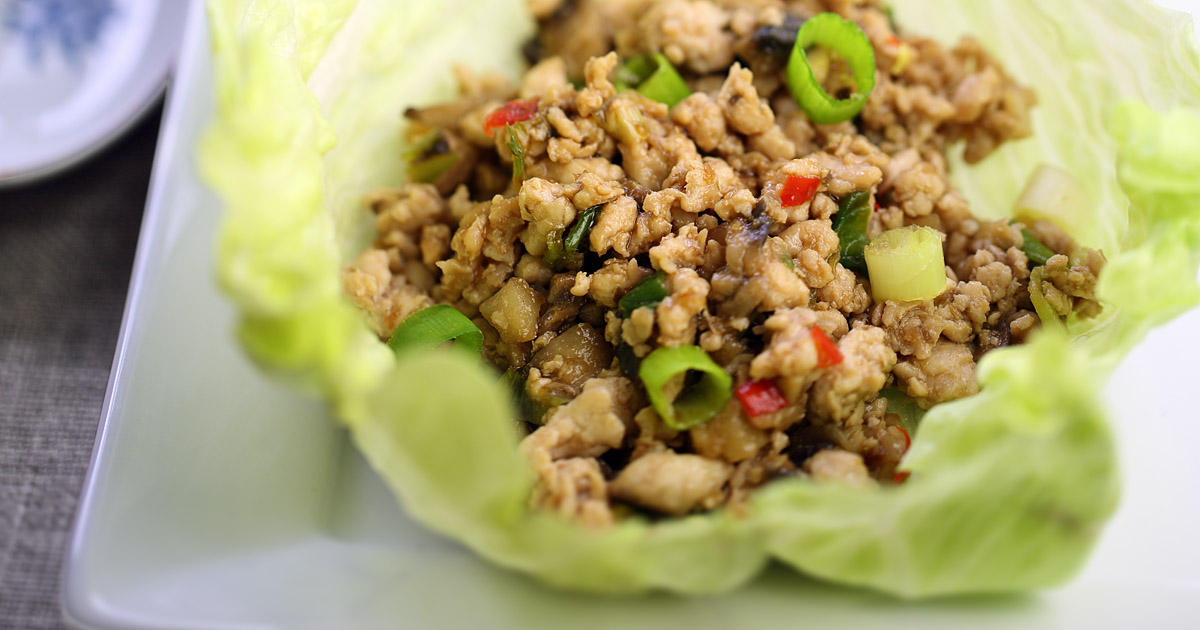 San Choy Bow Chinese Stuffed Lettuce Cups
