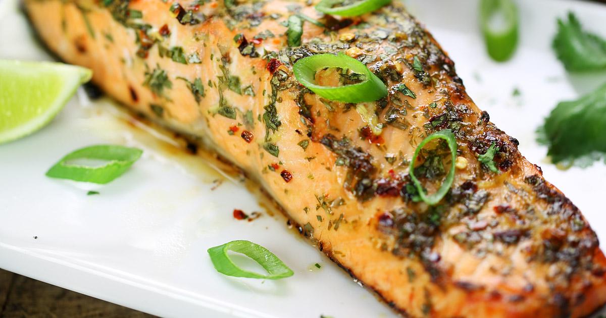 Thai Spiced Baked Salmon