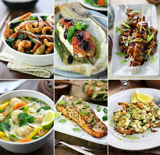 33 Mediterranean and Asian fish and shellfish recipes